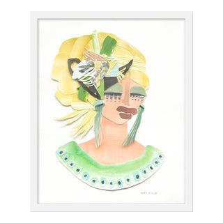 "Medium ""Zsa Zsa"" Print by Melvin G., 18"" X 22"" For Sale"