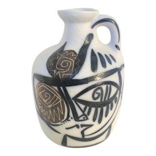 Cubist Studio Pottery Jug For Sale