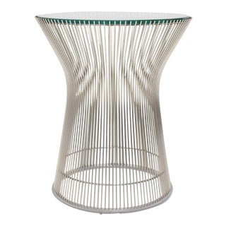 1980s Mid-Century Modern Iconic Warren Platner for Knoll Side Table For Sale