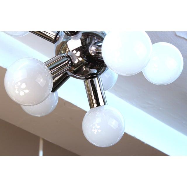Atomic Age Molecular Chandelier For Sale - Image 4 of 6