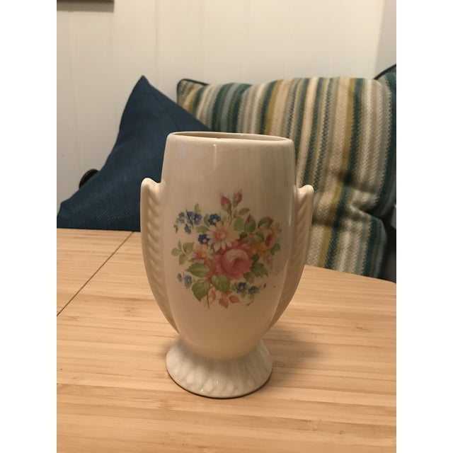 Ceramic Vintage Mid Century Bud Vase For Sale - Image 7 of 7