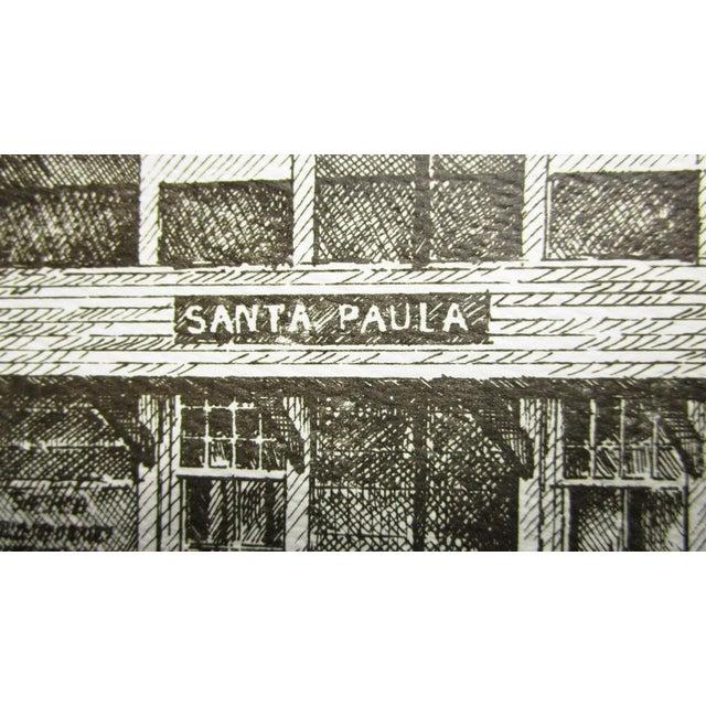 Train Station Ventura County Southern California Santa Paula Depot Limited Edition Print by Timothy Gaussiran 41/250 For Sale - Image 4 of 9