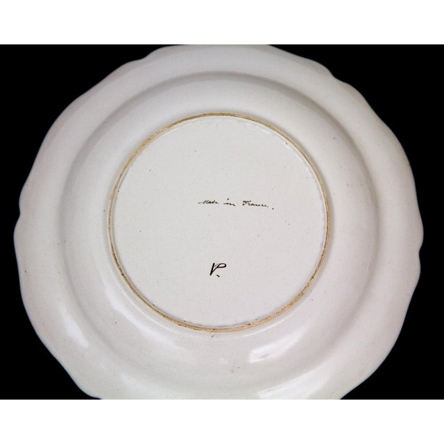 Antique French Faience Veuve Perrin Pottery Bowls - Set of 4 For Sale In New York - Image 6 of 8