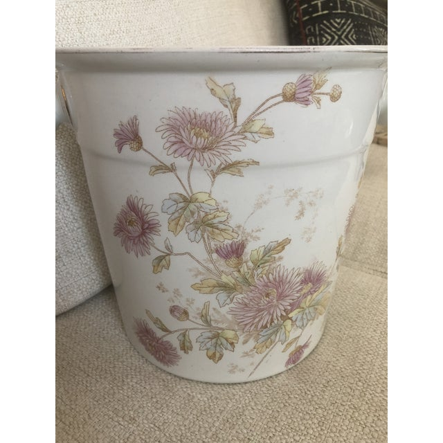 1910to 1930 Johnson Brothers of England Porcelain pot from a chamber set. My mother in law used it as a planter. Elegant...