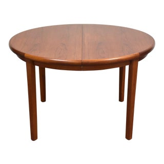 Danish Modern Teak Dining Table by Rasmus For Sale
