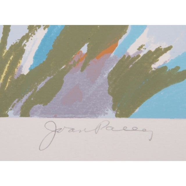 Joan Paley Vintage 'Early Spring' Lithograph - Image 2 of 2