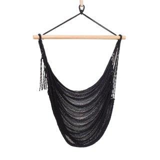Nylon Alba Swing in Ink Black + Walnut Rod For Sale