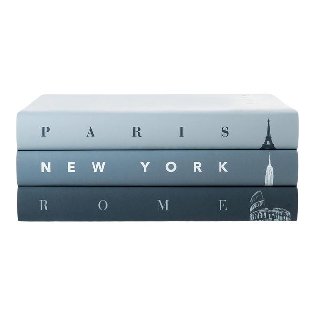 TASCHEN Cities Icons Book Collection - Set of 3 in Mineral For Sale