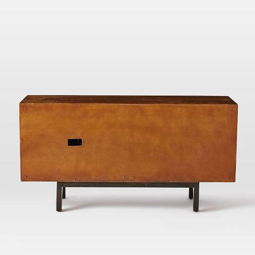 West Elm West Elm Lars Mid-Century Buffet For Sale - Image 4 of 5