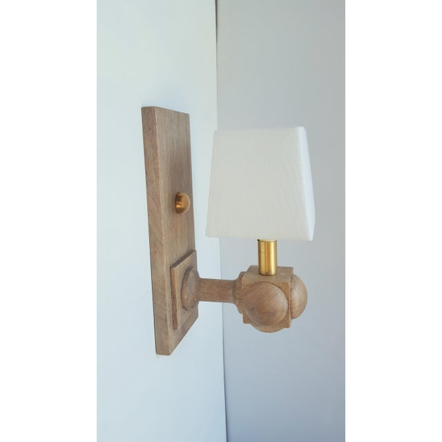 Foursquare Sconce by Paul Marra For Sale - Image 10 of 11