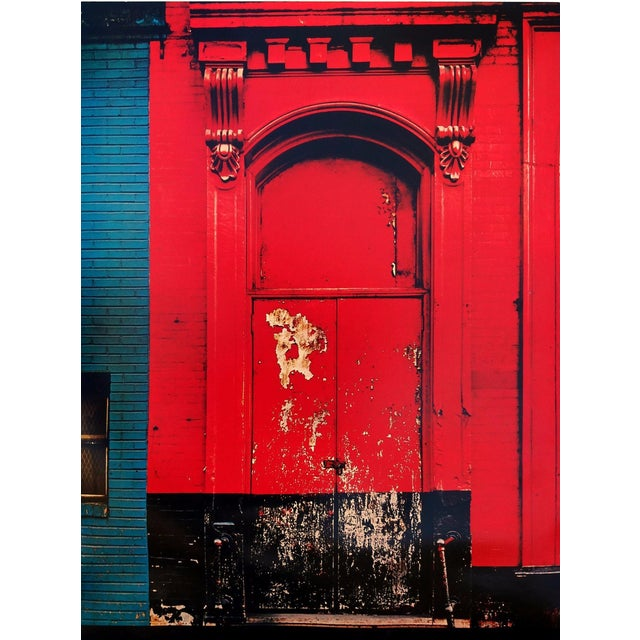 """Red Door"" Poster by Sheldon Brody - Image 1 of 2"