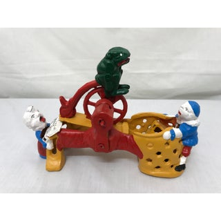 Cast Iron Mechanical Bank Preview