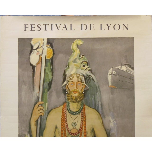 1964 Original French Festival Poster, Van Dongen For Sale - Image 4 of 6