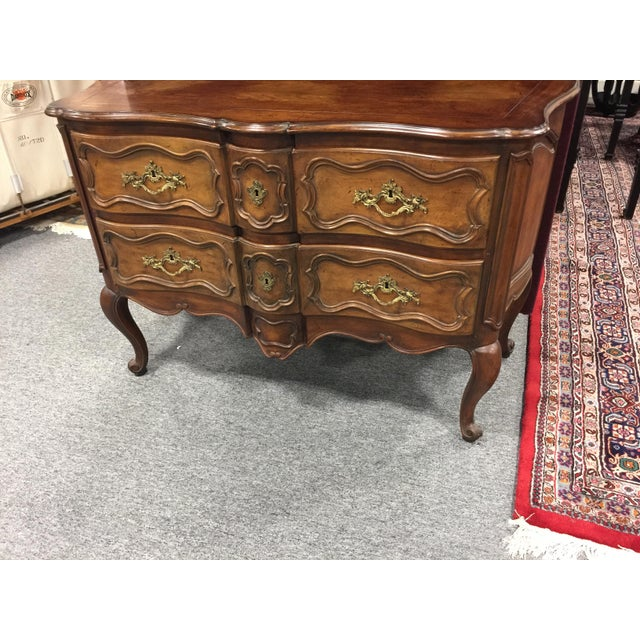Baker Furniture Company Baker Furniture French Provincial Chest Dresser For Sale - Image 4 of 10