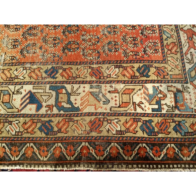 19th Century Kazak Rug 3′1″ × 5′6″ For Sale In Chicago - Image 6 of 13