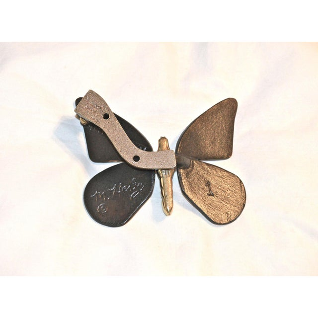 Black & Gold Butterfly Healy Door Knocker - Image 5 of 9