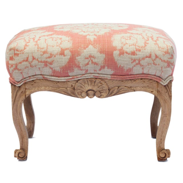 1900s Vintage Handcarved French Oak Footstool For Sale In Los Angeles - Image 6 of 6