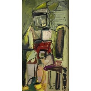 C P Figurative Abstract 1970-80 #6 For Sale