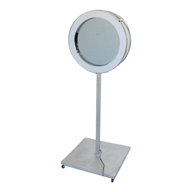 Curtis Jeré Infinity Mirror with Floor Mount For Sale