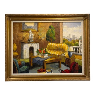 The Yellow Sofa Painting For Sale