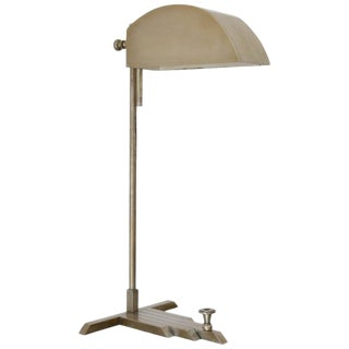 Marcel Breuer 1st Edition Desk Lamp For Sale
