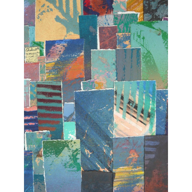 Colorful Collage BFK Paper Print - Image 3 of 3
