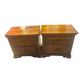 Late 18th Century Vintage Italian Miniature Commodes - A Pair For Sale