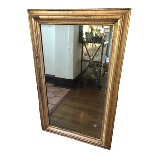 19th Century French Gilded Mirror For Sale