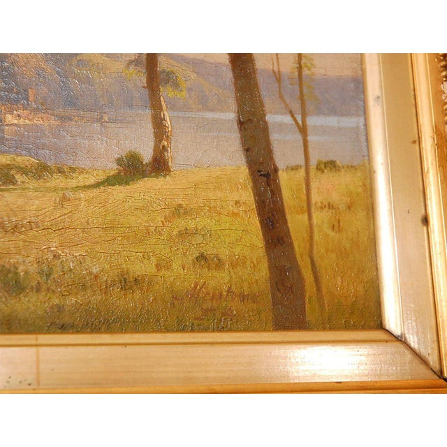 19th Century Oil Painting For Sale - Image 4 of 8