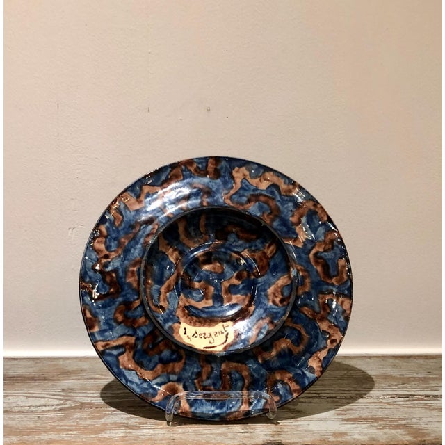 Thomas Sergent Palissy Plate, France Circa 1880 For Sale In San Francisco - Image 6 of 7