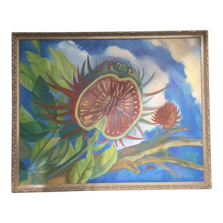 Oil Painting of Tropical Fruit For Sale