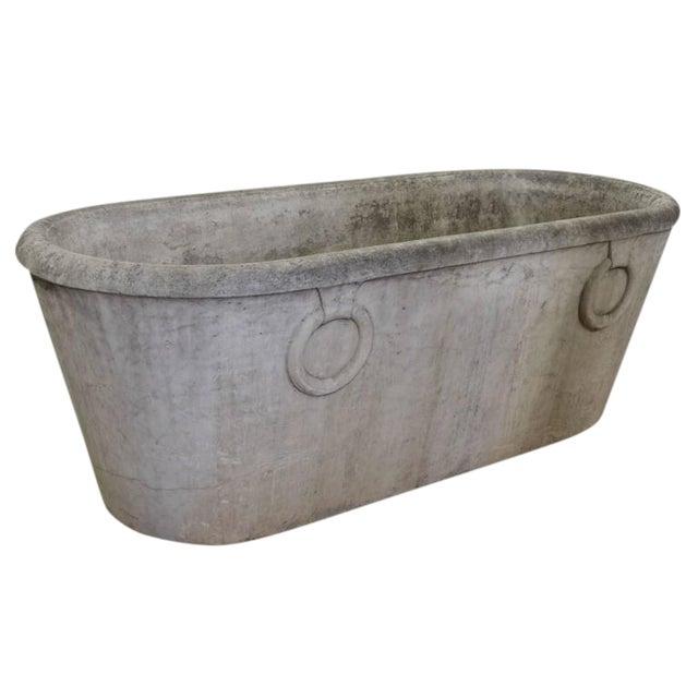Italian Marble Bathtub - Image 1 of 4