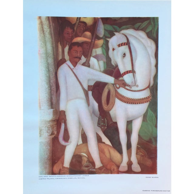Diego Rivera Lithograph, 1946 - Image 1 of 6