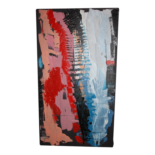 """""""Blink"""" Abstract Acrylic Painting - Image 1 of 9"""
