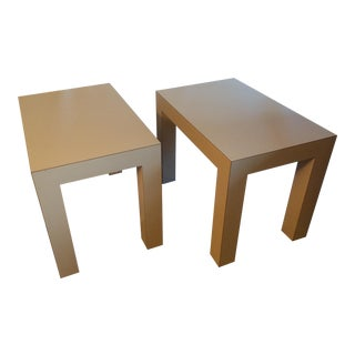 Mid-Century Modern Parson's Tables - A Pair For Sale