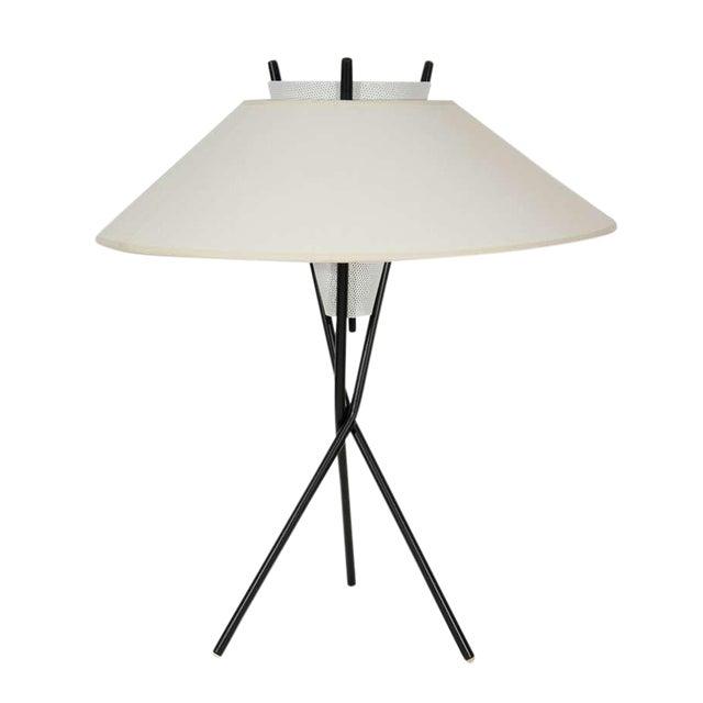 Gerald Thurston for Lightolier Tripod Table Lamps For Sale