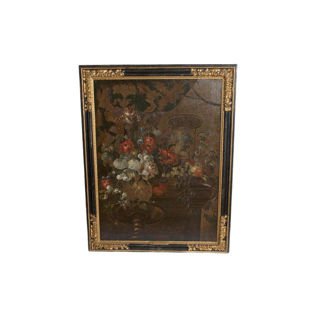 Early 20th Century Oil on Canvas in Manner of Pierre Nicolas Huilliot For Sale