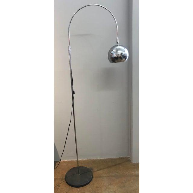 Robert Sonneman Chrome Eyeball Floor Lamp - Image 5 of 5