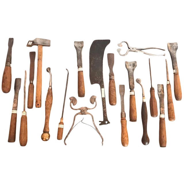 18th and 19th Century French Woodworkers Tools For Sale