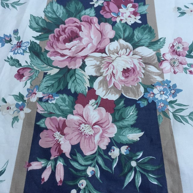 Vintage Schumacher Floral Chintz Fabric - 4.66 Yards - Image 2 of 9