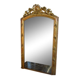 19th-Century French Napolean III Mirror For Sale
