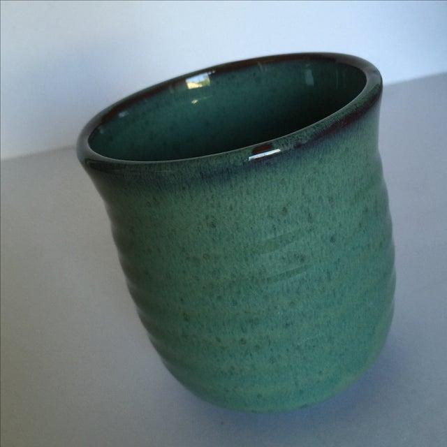 Vintage Pottery Mugs - Set of 5 - Image 9 of 11