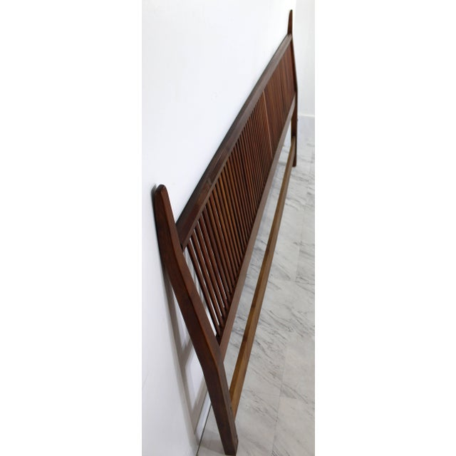 For your consideration is a marvellous, king sized headboard, designed by George Nakashima for Widdicomb, circa the 1950s....