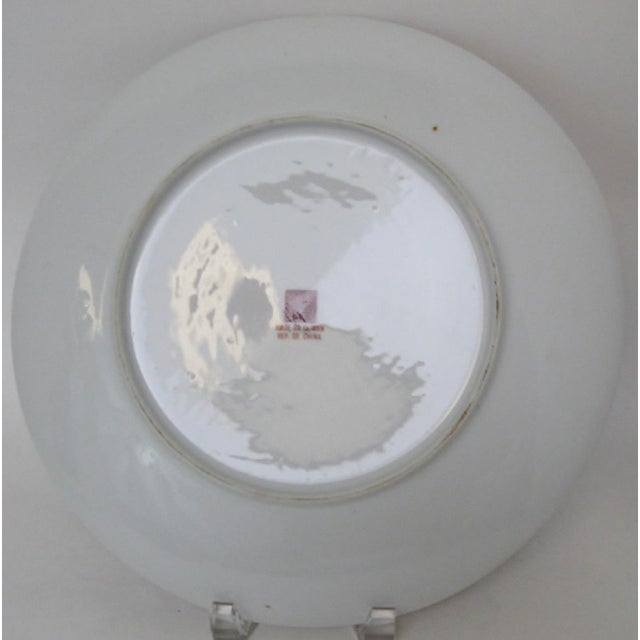 Porcelain Charger For Sale - Image 4 of 8
