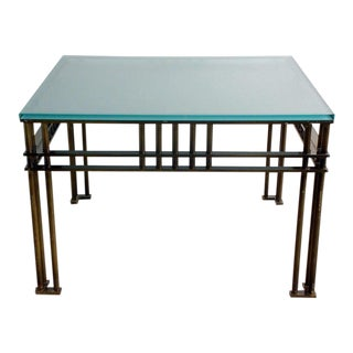 Attila Coffee or Low Centre Table by Jean-Michel Wilmotte For Sale
