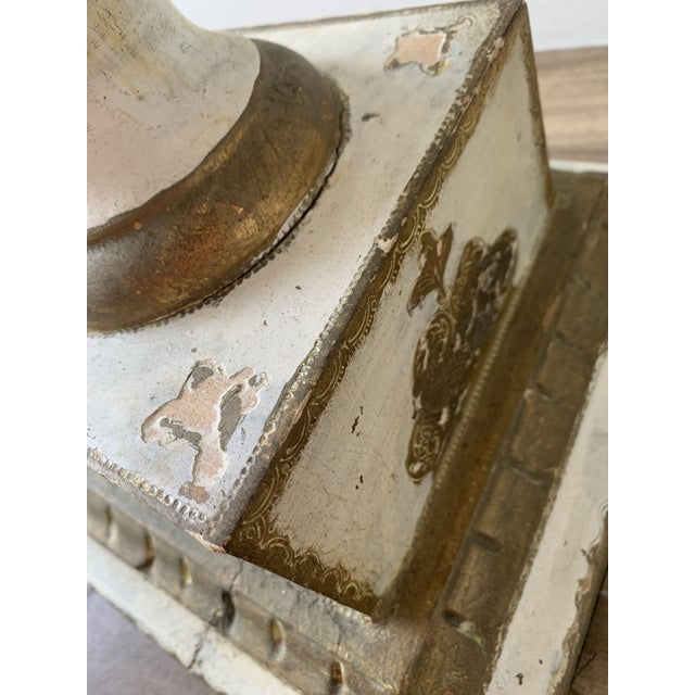 Vintage Louis Style French Classical Display Pedestal For Sale - Image 10 of 13