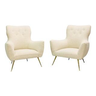 1950s Italian Armchairs - a Pair For Sale