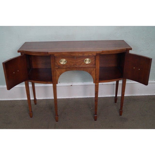 Statton Light Cherry Federal Style Sideboard - Image 8 of 10
