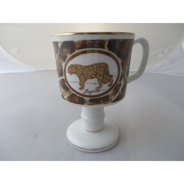 Mann Imports Jaguar Mugs - Set of 6 - Image 4 of 7