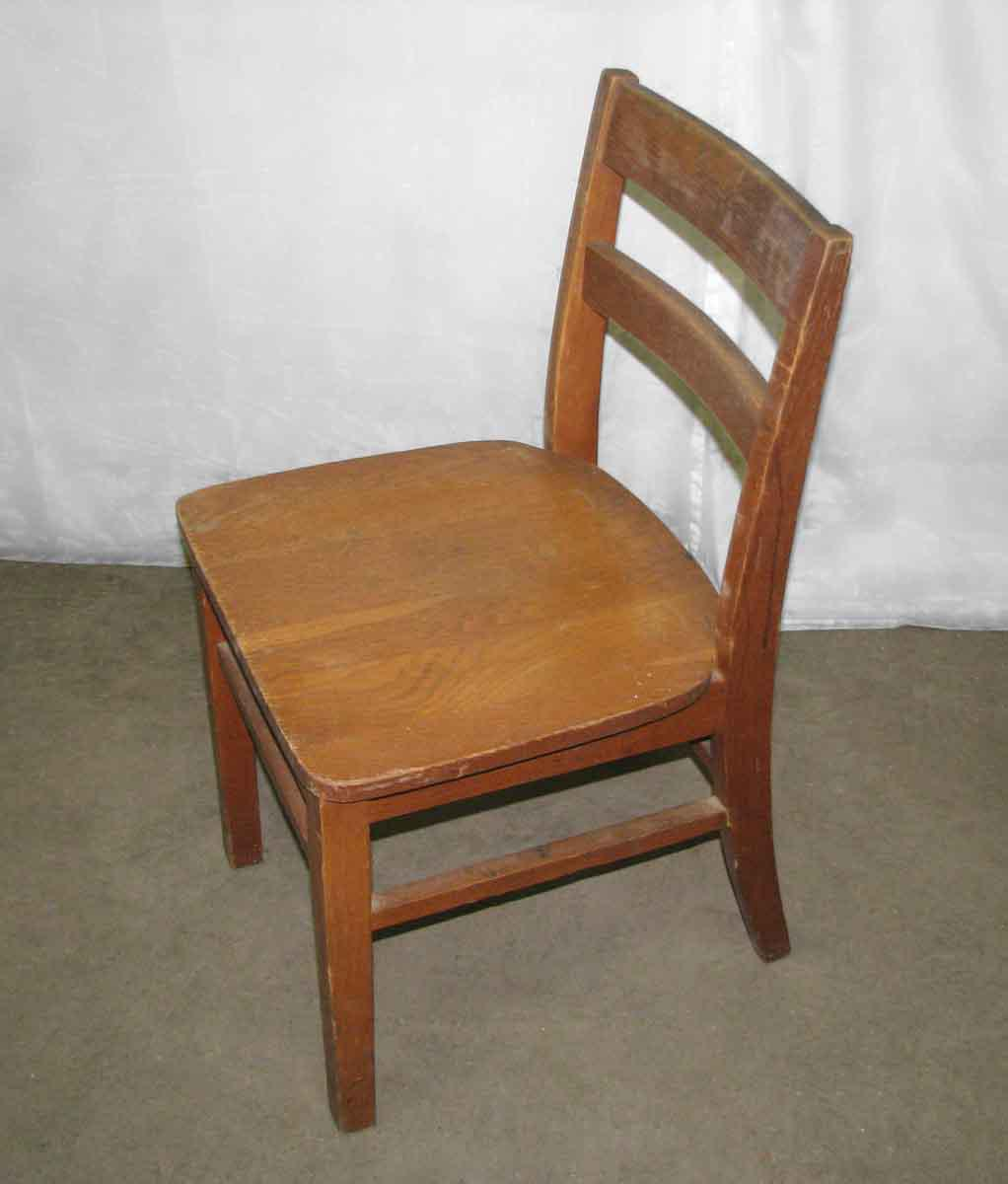 School chair back Back Side Old Maple Wooden Ladder Back School Chair For Sale Image Of City Home Old Maple Wooden Ladder Back School Chair Chairish